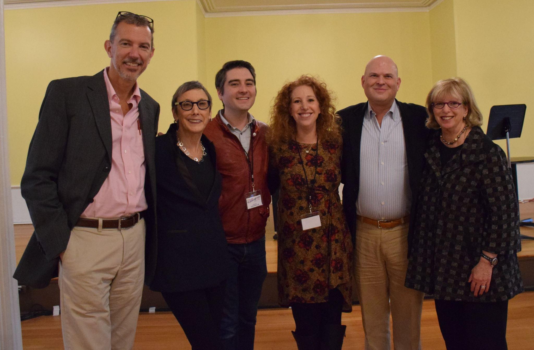 Hope Sharla and Alex, Robyn, Josh and Stephen - Tony winning producers who manage Bucks County Playhouse